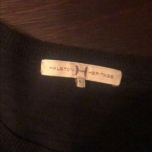 Halston Heritage linen sweater